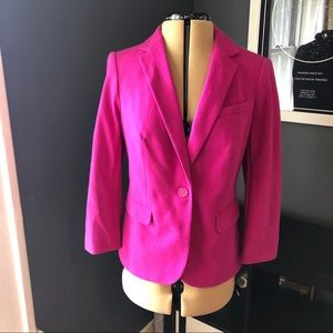 The Limited classic pink blazer